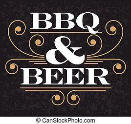 Barbecue & Beer Emblem