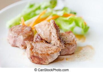 barbecue, carne di maiale
