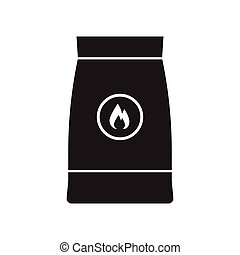 Barbecue Coal Bag Icon