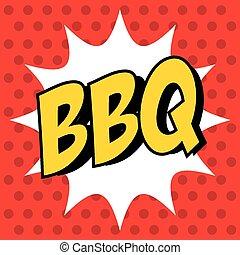 barbecue, delizioso, barbeque