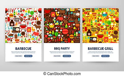 Barbecue Flyer Concepts