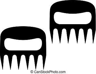 Barbecue forks icon