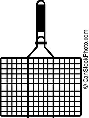 Barbecue grill grid