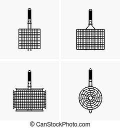 Barbecue grill grids
