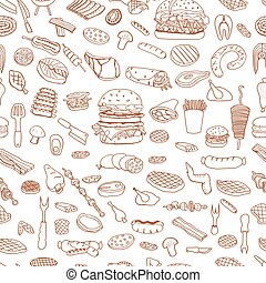 Barbecue Grill Pattern