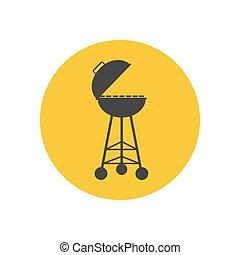 Barbecue Grill Silhouette