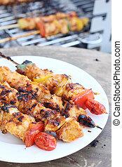 barbecue, grill