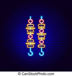 Barbecue Kebab Neon Sign