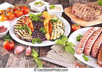 barbecue meal