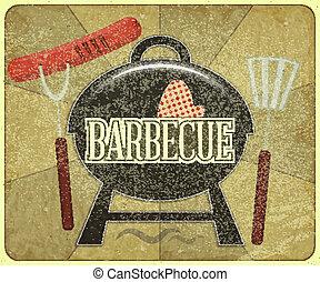 barbecue, menu