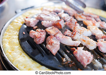 barbecue nötkött, restaurang
