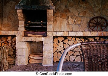 Barbecue Outdoor Kitchen