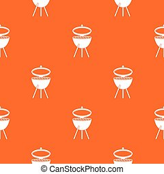 Barbecue pattern seamless
