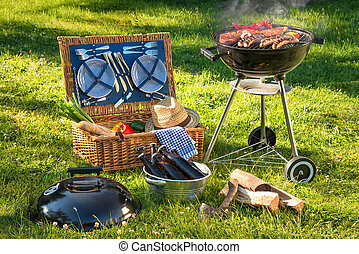 Barbecue picnic