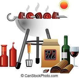 barbecue, pique-nique
