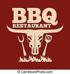 barbecue, restaurant