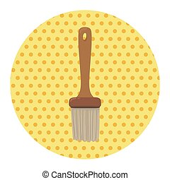 barbecue sauce brush equipment theme elements