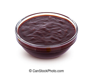 Barbecue sauce isolated on white background
