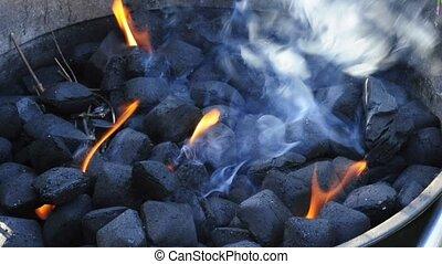 barbecue smoking
