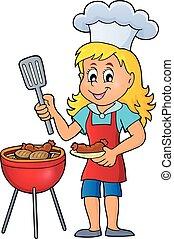 barbecue, thème