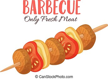 Barbecue vector illustration
