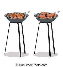Barbecue vector illustration