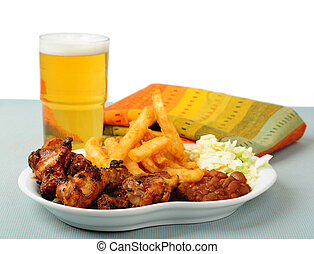 Barbecued Wings