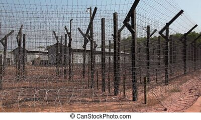 Barbed Wire - Barb,Barbed, fence, penitentiary, Break,break...