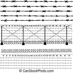 Barbed wire - fence