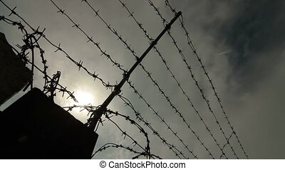 Barbed Wire obstacle