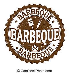 barbeque, meldingsbord