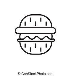 Barbeque party icon