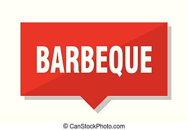 barbeque red tag