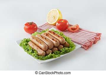 Barbeque sausage