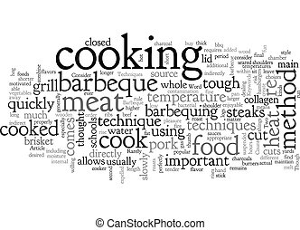 Barbeque Techniques Two Methods to Consider text background ...