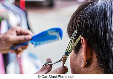 Barber for men.