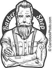 Barber portrait
