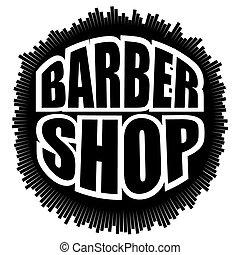 Barber Shop Badges