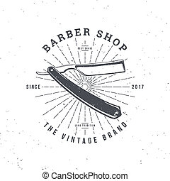 barber shop razor