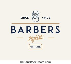 Barber stylist is a vector illustration about style