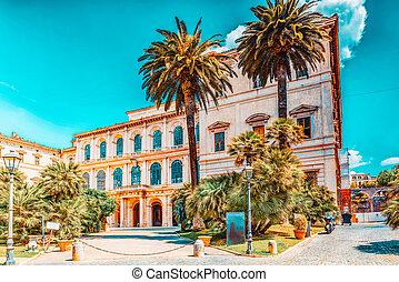 Barberini Palace (Palazzo Barberini ) .Palazzo Barberini  is...
