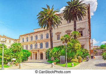 Barberini Palace (Palazzo Barberini ) .Palazzo Barberini is ...