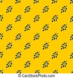 Barberry branch pattern