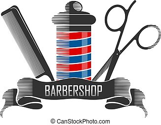 Barbershop and hairdressers design for business
