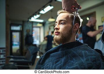 barbershop, man