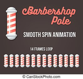 Barbershop pole animation