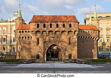Barbican, Cracow, Krakow, Poland