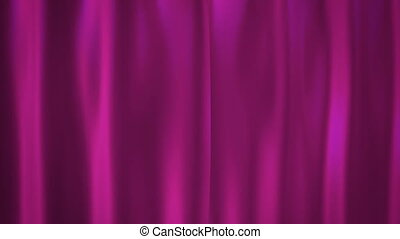 Barbie pink curtains