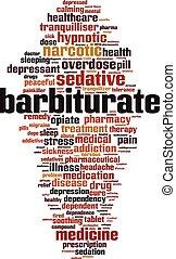 Barbiturate word cloud