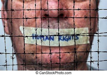 barbwire, pojęcie, ludzkie prawa
